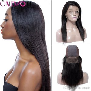Brazilian Human Hair Wigs Silky Straight 360 Full Lace Human Hair Wigs & Lace Front Wigs For Black Women Unprocessed Virgin Hair Vendor Deal
