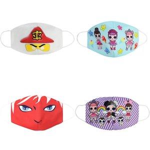 La máscara de cara del partido Maks Marvel Los niños de Nueva Marvel Spiderman Niños congelado esponja anti-polvo Maks de protección para las muchachas de los niños de 3 Cara