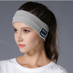 BGreen Sport Scarf Sweatband Bluetooth Headphones Wireless Yoga Sport Headband Headset Washable Jogging Dancing Music Seatband