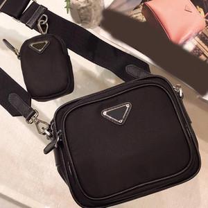 Umhängetaschen Handtaschen Mode-Qualitäts-breite Schultergürtel Reißverschluss Zwei Pic Damen-Ketten-Schulter-Beutel-Kamera-Beutel-Münzen-Geldbeutel