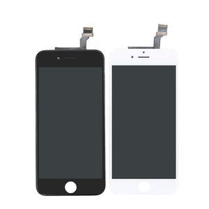 Grado A +++ pantalla LCD táctil digitalizador para Iphone marco 6 reemplazo de la pantalla de la asamblea completa para el iPhone 6