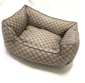 패션 가죽 사육 환경 친화적 인 소프트는 수면 개 고양이 침대 실내 애완 동물 통기성 탄성 머스트 사육 무료 배송을 도와줍니다
