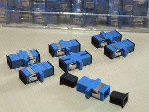 Wholesale Carrier-Class Fiber Optic Connector Adapter SC   UPC SM Flange Singlemode Simplex SC-SC Coupler 200pcs   lots