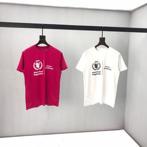 2020 hot novos homens de moda T-shirt do verão roupas marca T-shirt camisa POLO curta de algodão de alta qualidade famoso designer homens -995