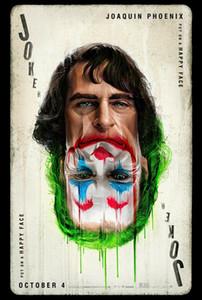 JOKER 호아킨 피닉스 카드 MOVIE 예술 선물 실크 인쇄 포스터 (535) (65)