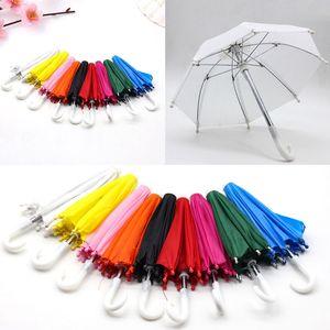 Nuevo estilo Mini Umbrella Rain Gear para 18 pulgadas American baby Doll Life Journey muñecas regalo de cumpleaños accesorio para niños