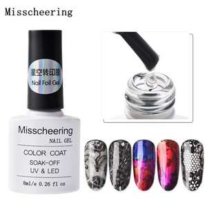 1 bottle 8 ml Nail Foil Adhesive Glue Professional Foils Sticker Paper Transfer Design Manicure Nail Art Accessory Tools
