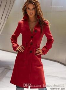 Designer Single Breasred Slim Fit Long Coats Women Long Wool Blends Winter Woolen