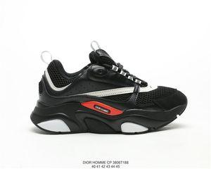 Dior Homme B22 Trainer Sneaker Vintage Plateforme Chaussures De Jogging Pour Hommes Taille 40-45