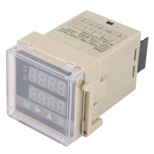 HFES ZN48 AC220V 디지털 시간 릴레이 카운터 다기능 회전 속도 주파수 측정기