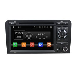 "4GB RAM 64GB ROM Octa Core 2 din 7"" Android 8.0 Car DVD Player for Audi A3 S3 RS3 2003-2011 RadioGPS 4G WIFI Bluetooth USB Mirror link"