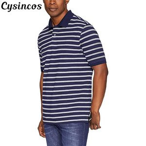 CYSINCOS Men Shirts Summer Men Casual Short Sleeve Cotton Shirts Fashion Tops Tees Shirt Para Hombre Brand Clothing 3XL