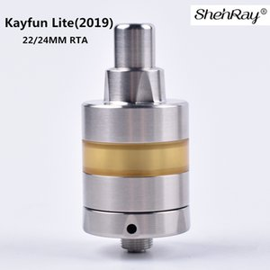ShenRay Kayfun 라이트 2019 RTA 분무기 Vape KF 22mm의 24mm 직경 기계 Vaper DIY MTL RDA VS 5 V5 탱크 전자 담배 510 박스 모 키트