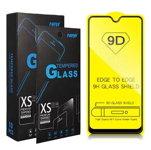 زجاج مقسى 9D لـ OPPO R17 Pro Redmi Note 7 Pro Note 5 6 S2 GO Mi 9 9se Play A1 A2 Xiaomi 5s 5 Plus