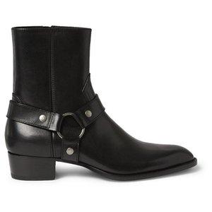 Men5a98 # için Tozlu Tarçın Tan Süet Biker Boots Süet Deri Bilek Erkek Çizme Menace Eril Fermuar Up Düşük Topuk Zapatos Ayakkabı
