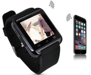 New Arrival Wholesale U8 Smart Watch Support Measurement Altitude U8 BT Mobile Phone V8 V9 Smart Watch Mobile Phone Watch With SIM Card Slot