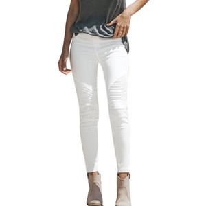 Yüksek Kalem Bel Kadın Pantolon Kış Stretch Temel Skinny Jeans Kadın Plus Size Denim Pantolon Femme Pamuk ile Kadınlar