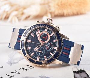 2019 new 모든 다이얼 작업 범죄 시계 남성용 또는 여성용 스테인레스 스틸 벨트 쿼츠 탑 시계 캐주얼 시계 1