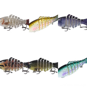 CaAxU Small eel simulation luya fake bait 100MM 3 sticks boxed soft soft bait soft fish