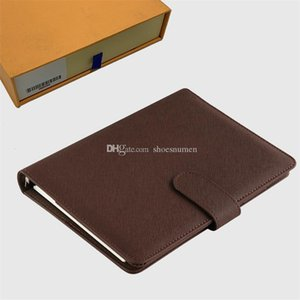 Cuaderno de cuero de lujo Notebook Bookbag Diseñador bookbags Cubierta del libro Hombres Bolsas libro de lujo de bolsos monederos bolso Bolsos, bolsos