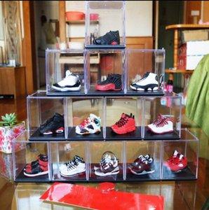 Décoration Creative Porte-clés Hommes Accrocher Des Chaussures De Basket-ball Stéréo Modèle Couple Cadeau Série Souvenir