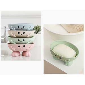 Waterfall Soap Dishes Draining Tray Soap Holder Sink Sponge Holder Kitchen Gadgets Bathroom Accessories