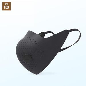 envío de 24 horas! AirPOP Zhimi Máscara del desgaste Aire PM2.5 la máscara anti-niebla purificador de aire de máscara activa Proporcionar suministro de aire eléctrico Cara Boca