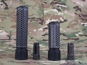 KAC Art QDC / CQB Schnell Detach Mündungsbremse 14mm mit QD-Flash Hider Set Spielzeug Modell DE BK
