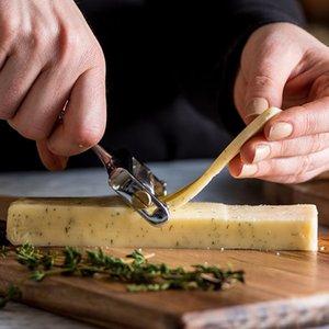 ECO métal Fromage Butter Cutter en alliage d'aluminium râpe Trancheuse de cuisine fromage Poignée de cuisson Trancheuse gâteau Raboteuse pâtisserie Outil