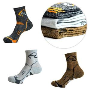 Men Women Thermal Running Winter Warm Sport Socks Mens & Womens Outdoors Comfortable Soccer Sock Coolmax Long Football Socks