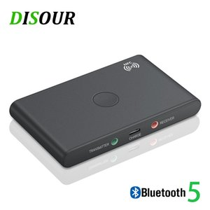 Adaptador Wireless ortable Audio Video DISOUR NFC Smart Wireless Bluetooth Adapter 2 EM 1 Audio 5.0 Bluetooth Receiver Transmitter 3 ....