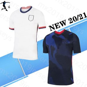 Nouveau 2020 2021 Ameri Home Away US Football Jersey 20/21 A COPA AmerI Etats Unis Soccer Shirt Homme Football Shirt Uniforme