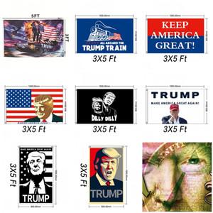 2020, Président des États-Unis Élection Drapeau Amérique Jour de l'indépendance Grands drapeaux américain Donald Trump Bannière 12wf E1