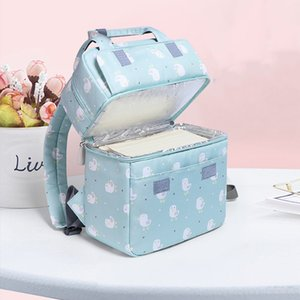 Baby Bags for Mom Diaper Food Carrying Backpack Breast Milk Storage Bags Fresh Keeping outdoor BFY029