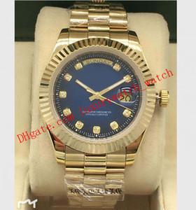 Роскошные часы 6 Стиль 41мм Браслет из нержавеющей стали на заказ циферблат с бриллиантами Asia 2813 Механизм Автоматический Мужские часы
