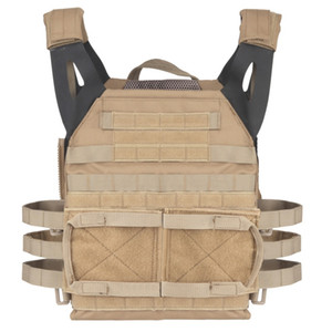 New Arrival Hunting Body Armor JPC Molle Plate Carrier Vest Outdoor CS Game Paintball Airsoft Vest Shooting Accessories