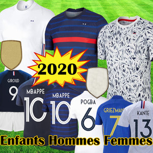 fr MBAPPE france 100th futbol formaları yıldönümü 100 yıl maillot GRIEZMANN POGBA Futbol LEMAR gömlek Equipe 2019 kiti tops