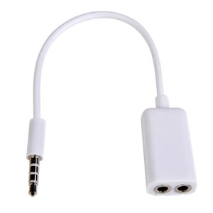 3.5mm 1 Male To 2 Female Audio Splitter AUX Cable