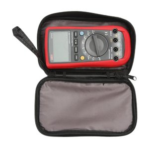 1pcs 20*12*4cm Waterproof Tools Bag Multimeter Black Canvas Bag for UT61 Series Digital Multimeter Cloth Durable