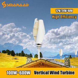 Новая Энергия Мельница 100w 200w 300w 400w 500w 600w Вертикальный ветротурбины Генератор 12v 24v Maglev Генератор с MPPT контроллер