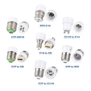 Holder E27 Lamp Converter soquete E12 E14 Gu10 G9 B22 MR16 Conversão base do adaptador Y Forma Splitter Fireproof Para Casa