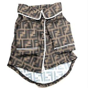 Ultime Designer Pet Sleepwear lusso Lettera F animali da notte Indoor Soft Touch Schnauzer Bichon Home Abbigliamento