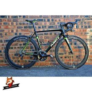 Camino de la bicicleta de carbono Llanta engomada 24/30 / 38/40/50/55/60/80 / 88mm 26er 27.5er 29er MTB ruedas de la bici Decal para-Novatec R5