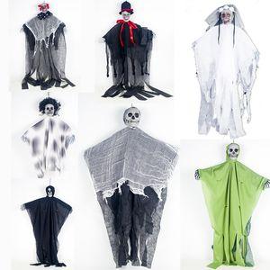 7 styles Halloween Skeleton Decration Skeleton Hanging Props Party Bar Hanging Layout Props Halloween Decrations Tools B232