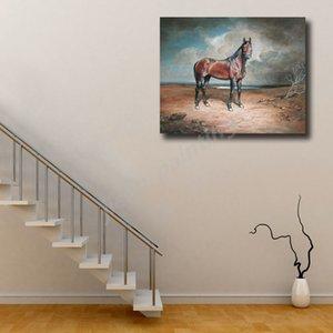 Dekoratif Resim İçin Ofisi Salon Ev Dekorasyon Boyama At War Wall Art Kanvas Poster Ve Baskı Tuval