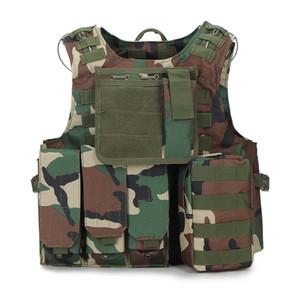 Tactical Vests Men Paintball Molle Combat Assault Equipment Tactical Vest CS Outdoor Clothing Hunting Vest Male