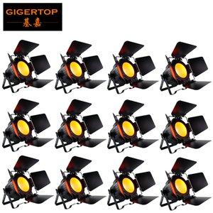 TIPTOP não impermeável COB LED Light Par com Barn porta 100W 200W Branco Quente Branco Frio COB PAR LED Indoor
