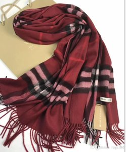 entrega libre 2018 diseñador de la tela escocesa de la reina de la moda súper manta superior del invierno 100% cachemira de la manera entre padres e hijos bufanda
