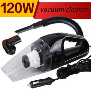 Novel-12V Handheld High Power Car Vacuum Cleaner, Carpet Cleaner for Car 120W 4000Pa with Cigarette Plug Cleaning Pet Hair, Soot