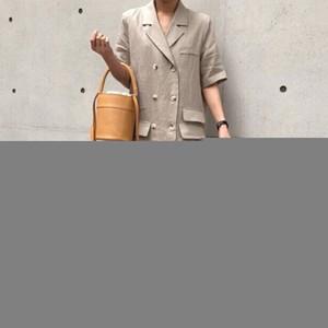 CROISÉ Vintage coréenne Maxi robe élégante pleine manches vestimentaire pour les femmes Casual Ladies Blazer Robes Femme Night Party